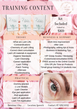 Lash Lift Course In-person