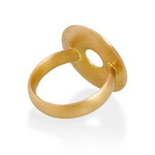 Large Circle Ring, 22ct Gold