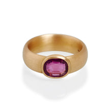 Burmese Ruby Ring, 22ct Gold