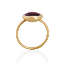 Almandine Garnet Ring, 22ct Gold