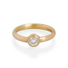 Anitque Brilliant Cut Diamond Ring, 22ct Gold