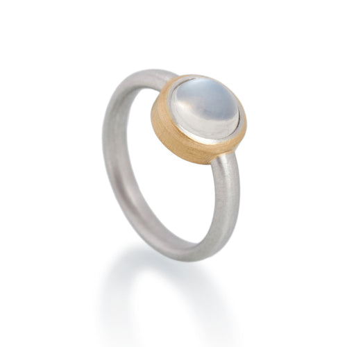 Moonstone Ring, Platinum & 22ct gold
