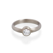 Brilliant Cut Diamond Ring, 18ct White Gold