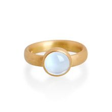 Fine Blue Moonstone Ring, 22ct Gold