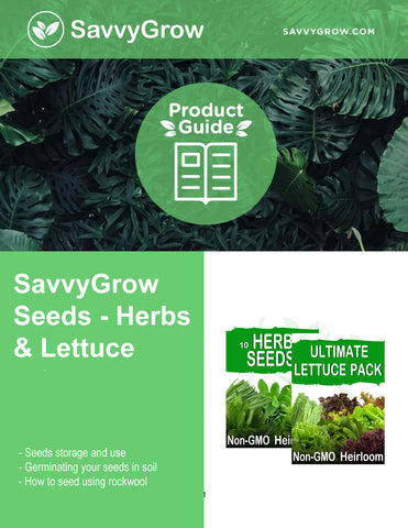 Seeds Herbs and Lettuce