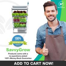 How To Setup SavvyGrow NFT Rack Hydroponic System