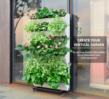 Bloomwall Vertical Plant Rack gives you a touch of organization, ease of access, and tilt of happiness as you kiss your planting aches and pains goodbye! The SavvyGrow Vertical Garden Planter racks pair with our BloomWall Planter to give you an allaround ease and bring life into your home in a modern and clean decor style.