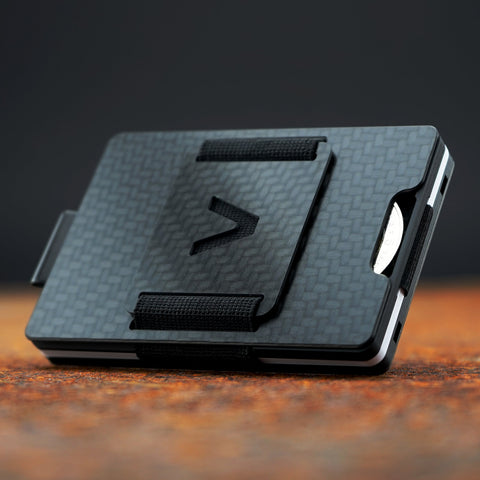Aviator Wallet Slide Carbon Fiber Clip