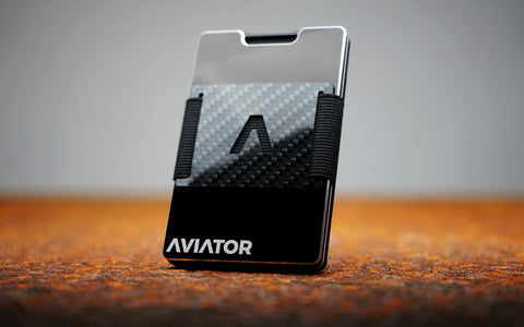 Aviator Wallet Cash Clip