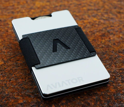 Pure Silver RFID Wallet