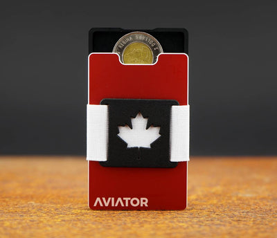 Aluminium Card Holder Wallet | Canada Edition