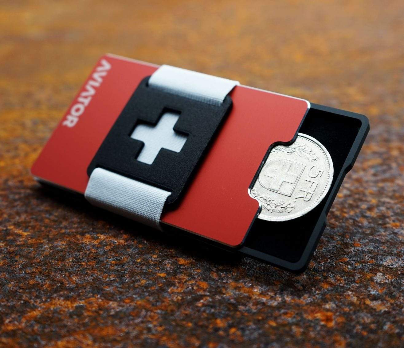 Aluminium Card Holder Wallet | Swiss Edition
