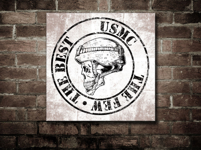 Canvas USMC - The Few, The Best