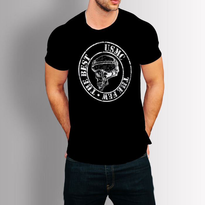 Tshirt - USMC : The Few, the Best (Black)