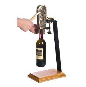 Antique Uncorking Machine And Table Stand - Wine Openers