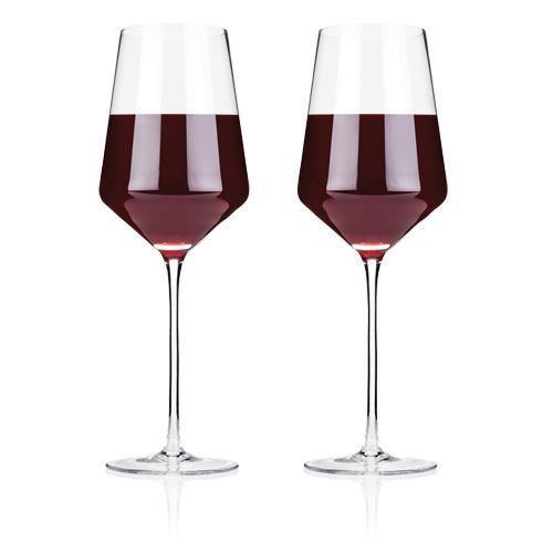 Crystal Bordeaux Glasses - Wine Glasses
