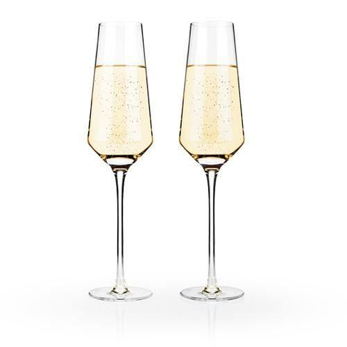 Crystal Champagne Glasses - Champagne Glasses