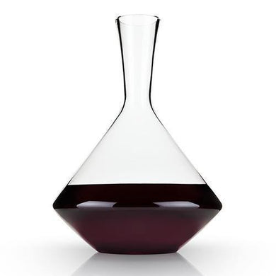 Crystal Wine Decanter-Angled - Decanters