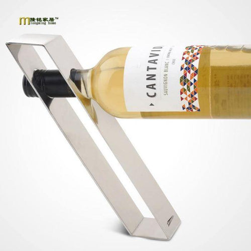 Gravity Suspension Bottle Holder - Wine Gift Set