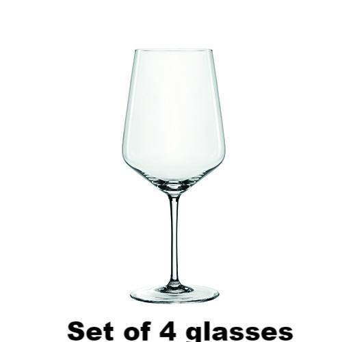 Wine Glass Angle Cut- Red Wine Style - Wine Glasses