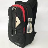 Wolffepack Escape, Award-Winning Backpack, 18L Zwart en Rood