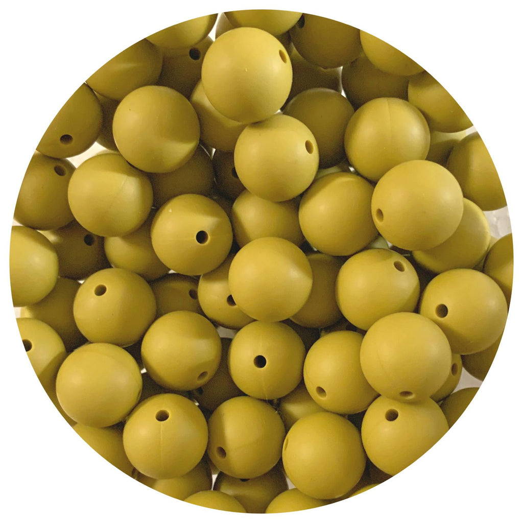 Pistachio - 15mm round - 10/25pack