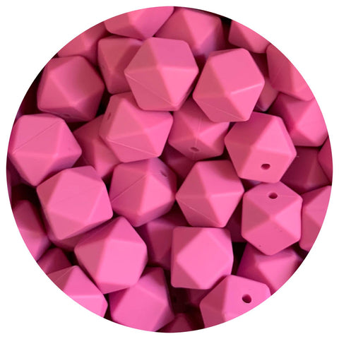 Orchid Pink - 17mm Hexagon - 10/25pack
