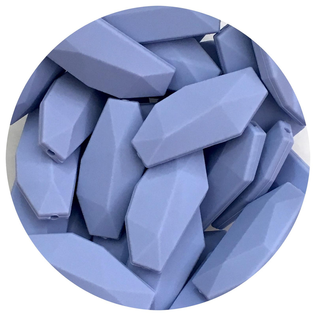 Powder Blue - Geo Leaf - 10/20pack