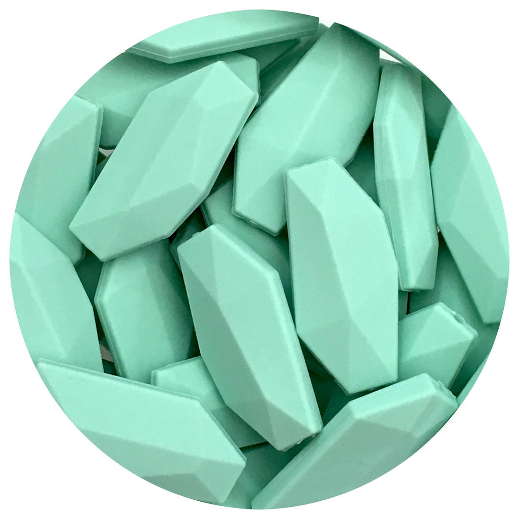 Mint Green - Geo Leaf - 10/20pack