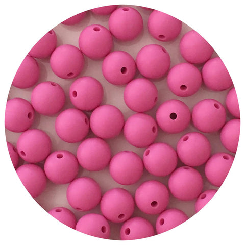 Orchid Pink - 12mm Round - 10/20/50pack