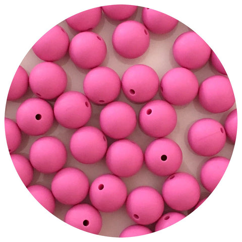 Orchid Pink - 15mm round - 10/20/50pack