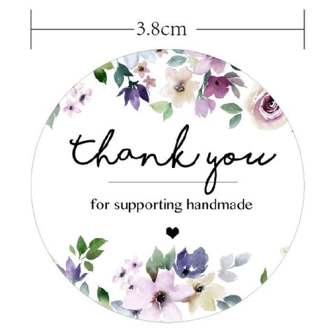 Thank you Stickers - 60pk