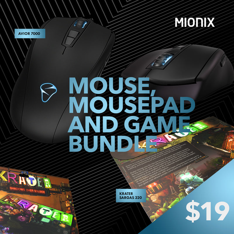 Mouse + Krater Bundle