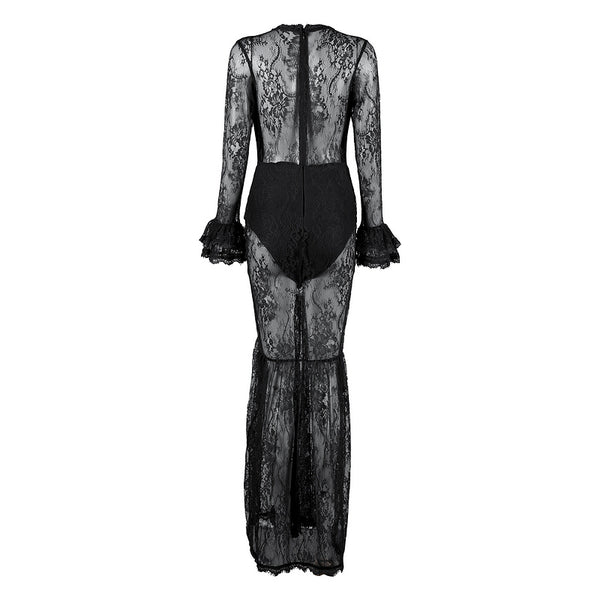 MARIA - LUXE LACE MAXI DRESS