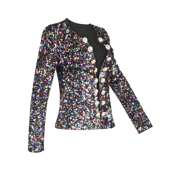 GIA - LUXE SEQUIN JACKET