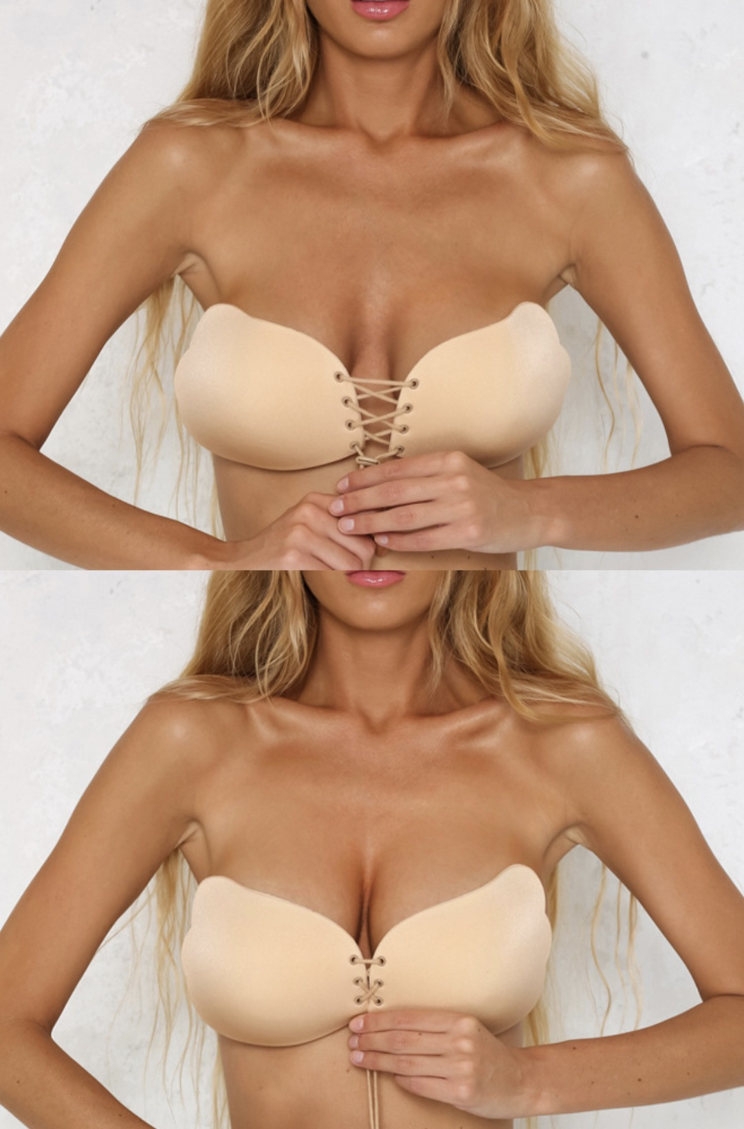 SEXY BUST DRAWSTRING MUST-HAVE STRAPLESS BRA