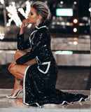 ROSALINDA - SEXY SEQUIN COAT DRESS