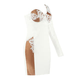ARIA - ONE SHOULDER BODYCON DRESS