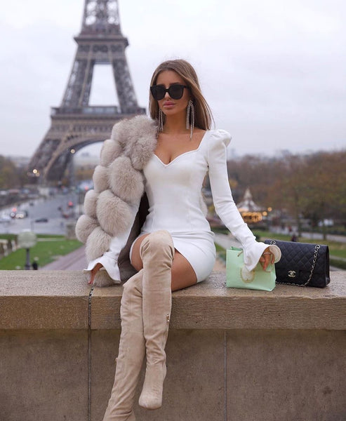 PARIS - CHIC BANDAGE DRESS
