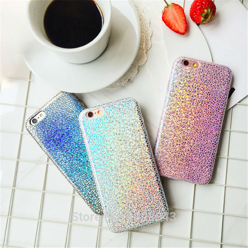 LUXE MERMAID SHINE TEXTURE PHONE CASE