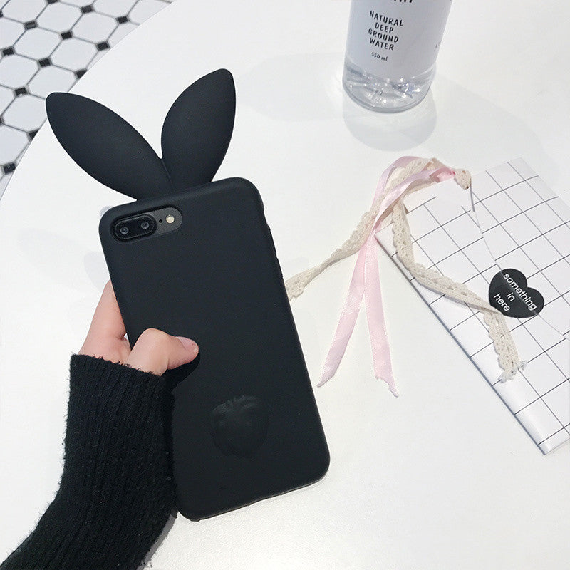 LUXE BUNNY EARS SOFT SILICONE PHONE CASE
