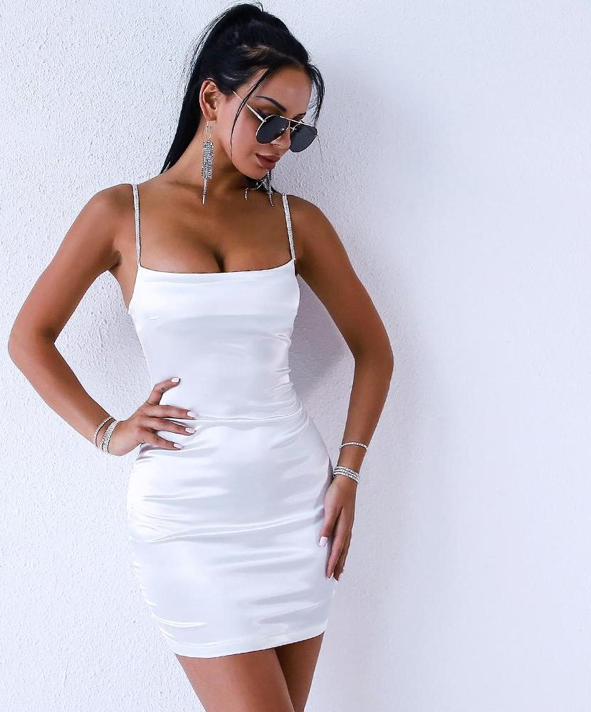 'MIAMI' SEXY SPAGHETTI STRAP DRESS