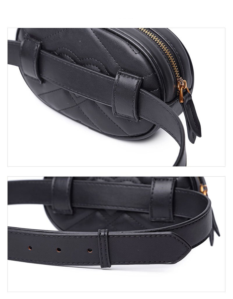 'ON POINT' PLAIN WAIST BELT BAG