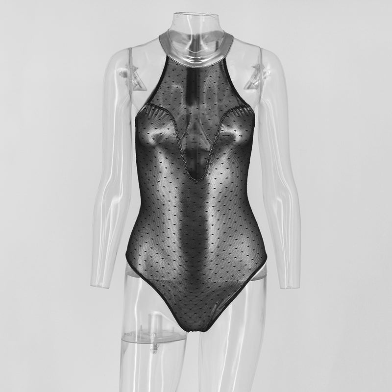 'ALIYAH' SEXY METALLIC SWIMSUIT