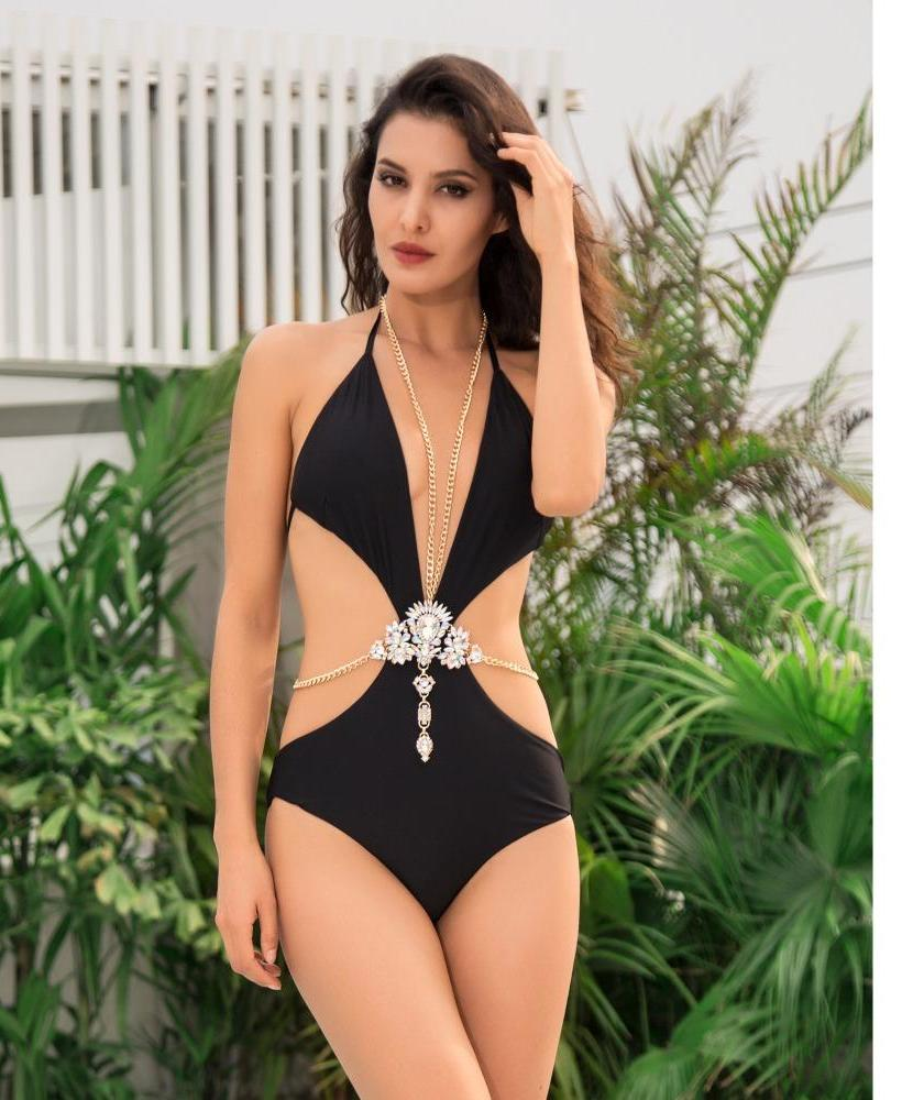'EMERSON' SEXY JEWEL SWIMSUIT