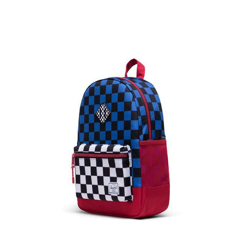 Rugzak - Heritage Youth - Multi Check - littlefashionaddict.com
