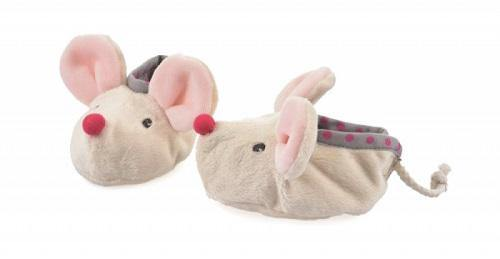 Pantoffels slippers Kate - muis - littlefashionaddict.com
