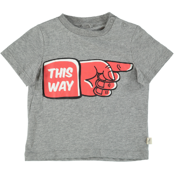 Baby t-shirt - This way/thatway