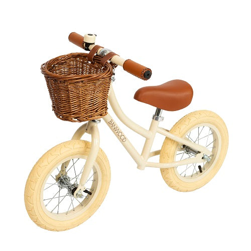 FIRST GO! - Balance Bike - Cream