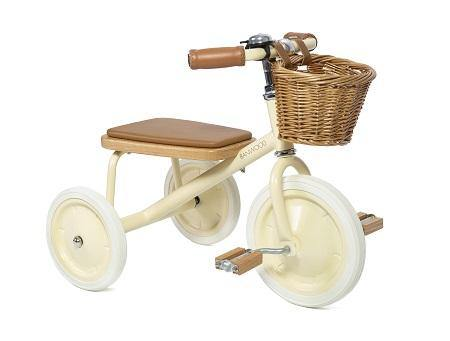 Driewieler - Banwood Trike - Cream - littlefashionaddict.com